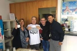 Sant Antoni, Sant Jordi y Formentera reparten tres quintos premios