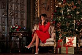 Melania Trump ordena la retirada de una histórico magnolio de la Casa Blanca