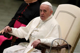 """El Papa lamenta la """"desnaturalización"""" de la fiesta: """"Sin Jesús no hay Navidad"""""""