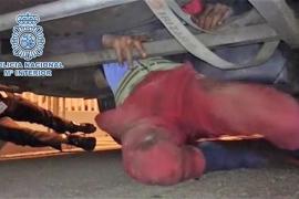 Localizado un menor en Tarifa que viajaba en los bajos de un autobús procedente de Tánger