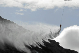 Extinguido el incendio de Pollença tras quemar 80 hectáreas