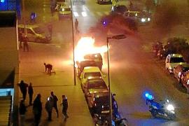 Sobresalto por la quema de un contenedor en Vila