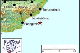 Baena (Córdoba) y Benalmádena (Málaga) registran dos leves terremotos