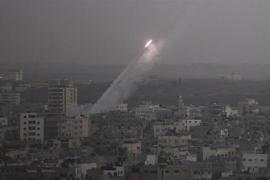 Israel intercepta varios cohetes lanzados desde la Franja de Gaza