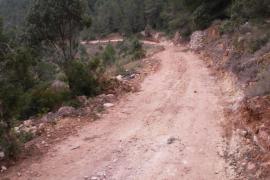 Sant Josep finaliza la adecuación del camino de sa Capelleta