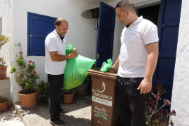El proyecto piloto de recogida de materia orgánica en Formentera permite recopilar 100 toneladas de residuos