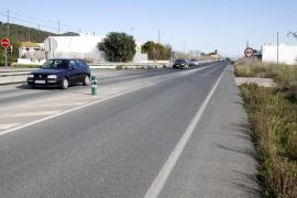Una mujer de 83 años muere atropellada en la carretera entre Ibiza y Sant Josep