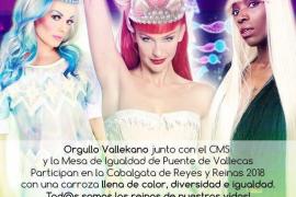 Polémica en Vallecas por una carroza 'drag' en la cabalgata de los Reyes Magos