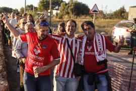 Dispositivo especial de movilidad para el partido entre el Formentera y el Alavés