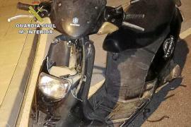 Detienen a un joven por robar una motocicleta en Formentera