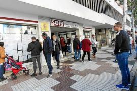 Las Pitiusas cerraron el año pasado con 8.951 personas sin empleo, un 6% menos que en 2016