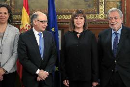 Montoro deja a Balears con 67 millones menos por la prórroga de Presupuestos