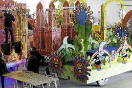 Los Reyes Magos de Ibiza se olvidan del paseo Vara de Rey