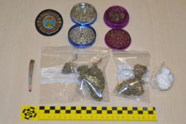 Denunciado un conductor en Ibiza por dar positivo en cannabis