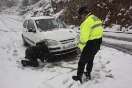 La nevada caída en Menorca es la mayor en 25 años