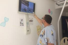 Los niños y jóvenes ingresados en Can Misses disponen de un canal de televisión gratuito