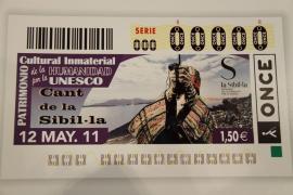El Canto de la Sibil·la ilustrará el cupón de la ONCE del jueves