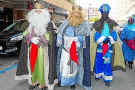 Un barrio que presume de Reyes Magos de Oriente