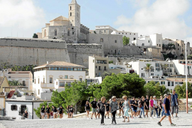 La reactivación del turismo alemán, clave para la temporada baja en la isla de Ibiza