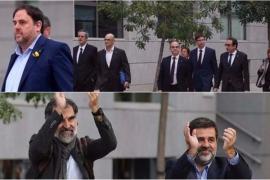 Los 'Jordis' y el exconsejero Forn declaran el jueves para intentar ser excarcelados
