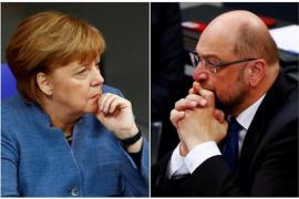"""Comienza la primera y maratoniana ronda de conversaciones para repetir la """"gran coalición en Alemania"""""""