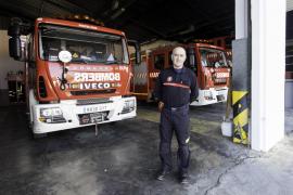 Vicente Rabanal se jubila tras 31 años de bombero