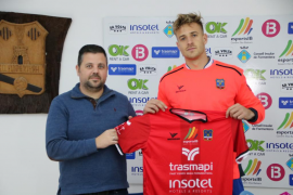 Kotnik ya se entrena en Formentera