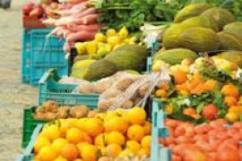 Mercado semanal de S'Arenal en Palma