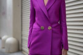 Ultra violeta, el color del año 2018.