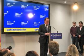 Artur Mas deja la presidencia del PDeCAT