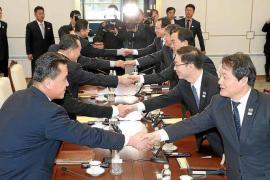 Las dos Coreas acuerdan desfilar juntas en los Juegos de Pyeongchang