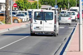 Los vecinos de Jesús temen que se repitan las «chapuzas» en la carretera de Santa Eulària