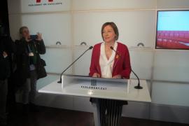 Carme Forcadell deja la presidencia del Parlamento catalán