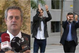 Forn y los 'Jordis' se desmarcan de la vía unilateral ante el juez para reclamar su excarcelación