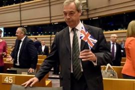 Farage abre la puerta a un segundo referéndum sobre el Brexit para cerrar el debate en Reino Unido