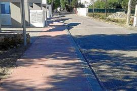 Sant Josep espera acabar en primavera las obras de mejora de Cala Vedella