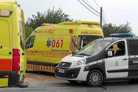 Un ciclista de 53 años resulta herido tras ser atropellado en una rotonda de Sant Rafel
