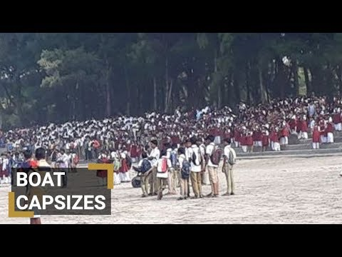 Al menos cuatro escolares muertos y otros cuatro desaparecidos al naufragar un barco con 40 alumnos en India
