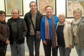 Exposición de obras de Joana Maria Mas en el Casal de Peguera