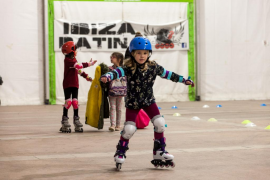 Patinaje 'indoor' en el Recinto Ferial