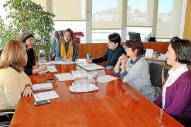 Lydia Jurado se reúne con la nueva directiva de la Asociación Asperger