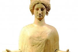 La dama oferente de Ibiza en el Museo Arqueológico Nacional