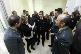 Toma de posesión del comisario jefe de Ibiza, Manuel Hernández