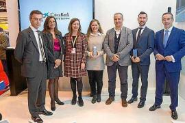 Jardí de ses Bruixes y Nobu Hotel Ibiza Bay, premios de CaixaBank 2017 al mejor hotel
