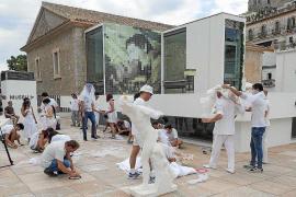 Se cae una parte del techo del Museo de Arte Contemporáneo de Ibiza