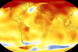 El 2017, entre los dos o tres años más cálidos desde que hay registros, junto a 2015 y 2016