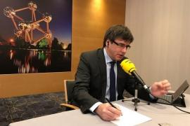 """Puigdemont defiende poder gobernar desde Bruselas: """"No podría hacerlo desde la prisión"""""""