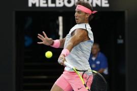 Rafa Nadal se planta en octavos en Melbourne por la vía rápida tras derrotar en tres sets a Dzumhur
