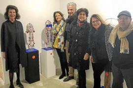 Andrés Planas expone su 'Panteón animista' en el Temple