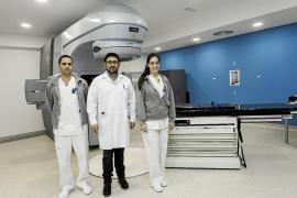 Un total de 212 pacientes recibieron tratamiento de radioterapia en 2017